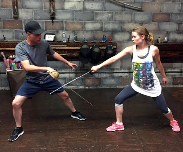 Stage Combat Academy private lesson